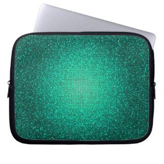 Teal Glitter Sequin Disco Glitz Protective Case