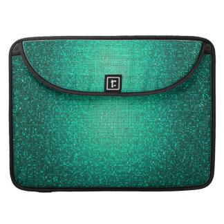 Teal Glitter Sequin MacBook Sleeve Computer Case MacBook Pro Sleeves