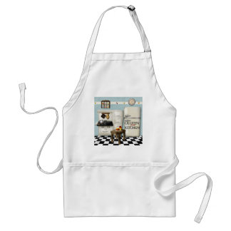 Teal Gluten Free Kitchen Apron