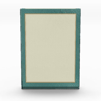 Teal Green Acrylic Award