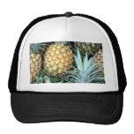 Teal, Green and Golden Hawaiian Pineapples Trucker Hats