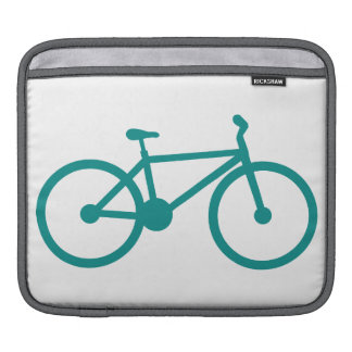 Teal Green Bicycle Sleeve For iPads