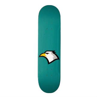 Teal Green; Eagle Custom Skateboard