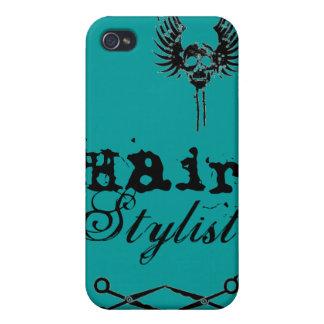 Teal Green IPhone Case Hair Stylist