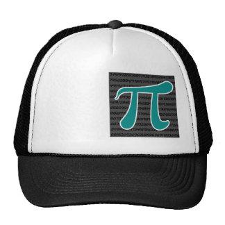 Teal Green Pi symbol Trucker Hat
