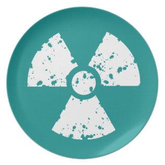 Purple Toxic Symbol