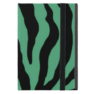 Teal Green Tiger Striped Cases Sleeves iPad Mini Case