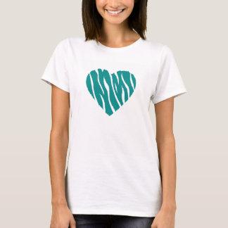 Teal Green Wild Heart T-Shirt