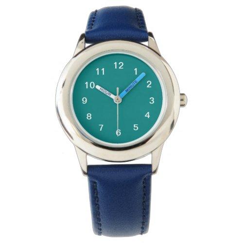Teal Green Wristwatch