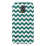 Teal Green Zig Zag Design Pattern Galaxy Nexus Covers