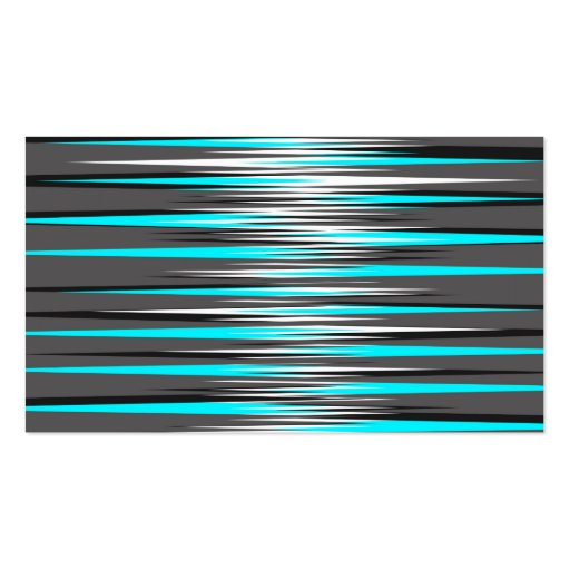 Teal, Grey, White, & Black Stripes Business Card Templates
