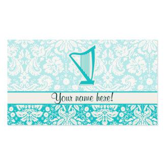 Teal Harp Business Card