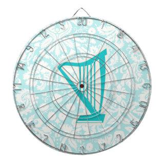 Teal Harp Dart Boards