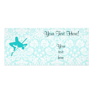 Teal High Jump Rack Card