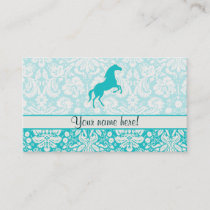 Teal Horse Business Card
