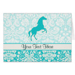 Teal Horse Cards