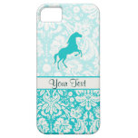 Teal Horse iPhone 5 Case