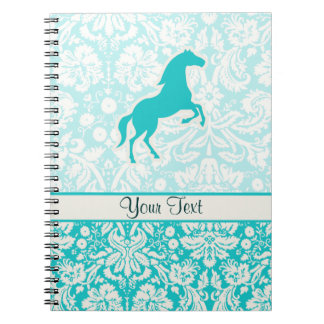 Teal Horse Note Book