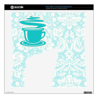 Teal Hot Coffee Decals For The Xbox 360 S