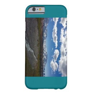 Teal iPhone case with Denali National Park photo