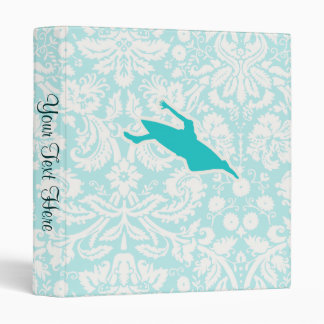 Teal Kayaking 3 Ring Binder