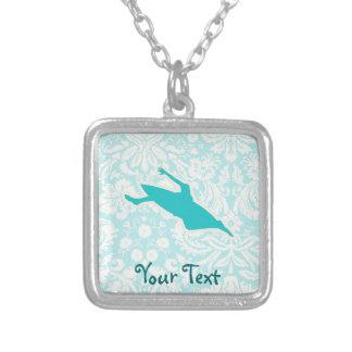 Teal Kayaking Necklace