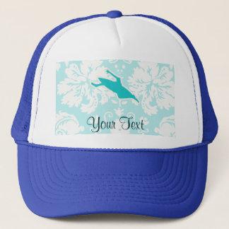 Teal Kayaking Trucker Hat