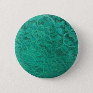 Teal Lace Button