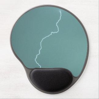 Teal Lightning Gel Mouse Pad