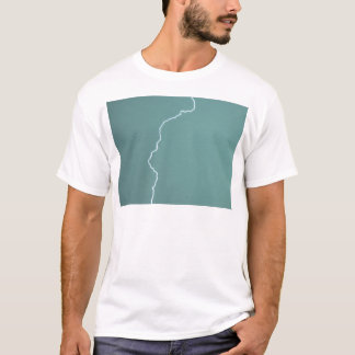 Teal Lightning T-Shirt