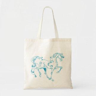 Teal Line Equine Bag