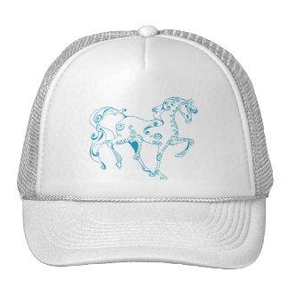 Teal Line Equine Hat