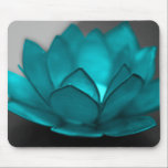 "Teal Lotus Mouse Pad<br><div class=""desc"">color,  pop,  lotus,  flower,  black,  white,  hope,  faith,  serenity,  rose,  pop art,  pink,  purple,  digital art,  green,  lime</div>"