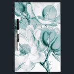 """Teal Magnolia Dream Dry-Erase Board<br><div class=""""desc"""">teal magnolia vintage art</div>"""