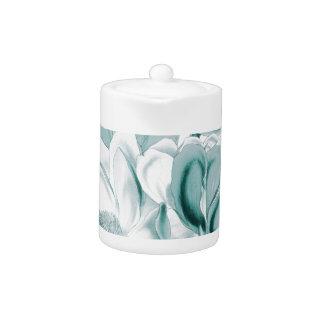 Teal Magnolia Dream Teapot at Zazzle