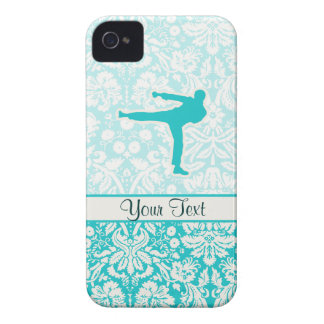 Teal Martial Arts iPhone 4 Case-Mate Case