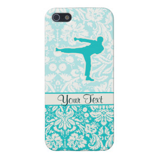 Teal Martial Arts Case For iPhone SE/5/5s