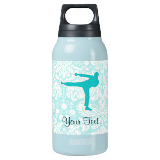 Teal Martial Arts Insulated Water Bottle