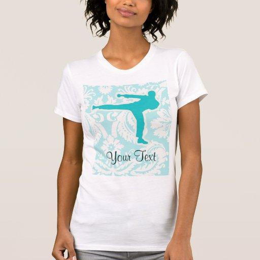 Teal Martial Arts T Shirts