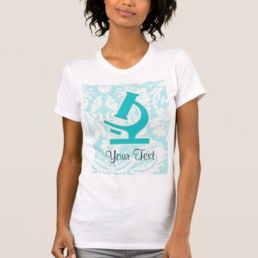 Teal Microscope; Cute Tshirt