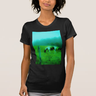 Teal mist Reto colored painted pony Horse T-Shirt