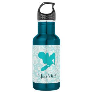 Teal Motocross Whip Water Bottle