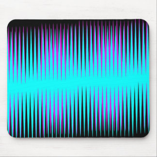 Teal-n-Pink Frequency Mousepads