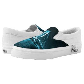 Teal Narrows Bridge Z slipons Slip-On Sneakers