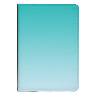 Teal Ombre Kindle Cover