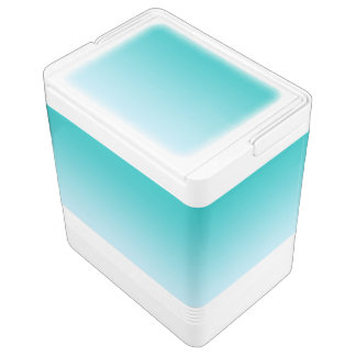 Teal Ombre Drink Cooler