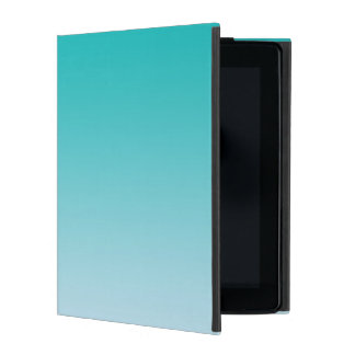 Teal Ombre iPad Cover