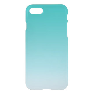Teal Ombre iPhone 7 Case