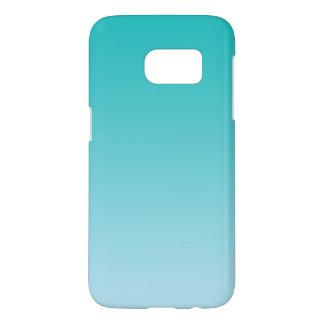 Teal Ombre Samsung Galaxy S7 Case
