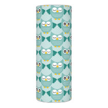 Teal Owls Flameless Candle
